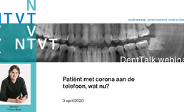 Webinar 2. Patiënt met corona aan de telefoon, wat nu?