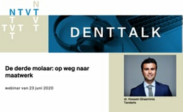 Webinar 9. De derde molaar: op weg naar maatwerk