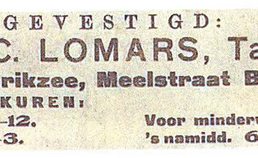 Advertentie tandarts Lomars