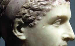 Profiel beeld Cleopatra
