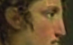 Profiel van Cleopatra uit 1825