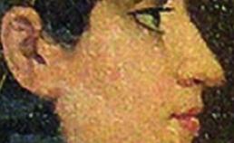 Profiel van Cleopatra uit 1879
