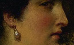 Profiel van Cleopatra uit 1887