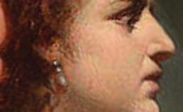 Profiel van Cleopatra uit 1882