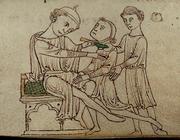 """Middeleeuwse tandheelkunde in de Lage Landen 8. """"Eenre vrouw die hadde squinantie"""""""