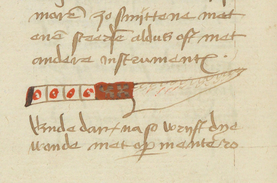 (Bron: Universiteitsbibliotheek Gent. Hs. 1273).