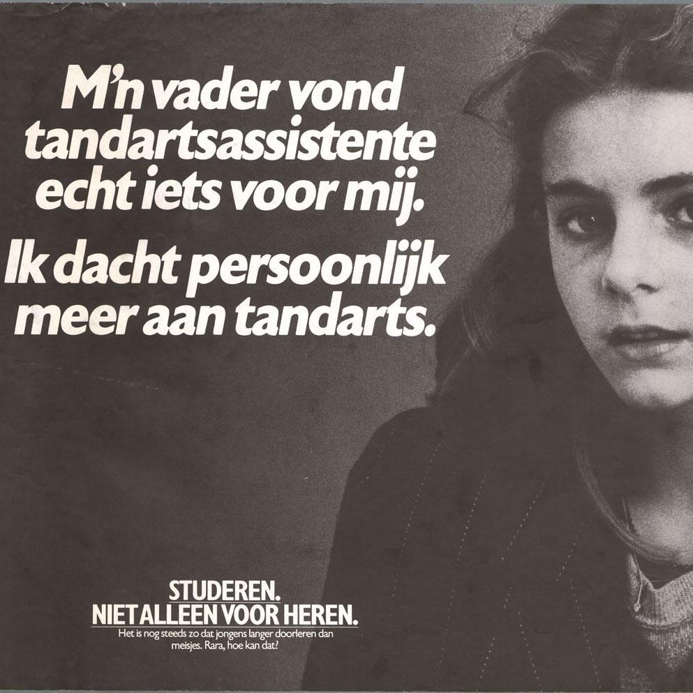 Afb. 1. Poster uit jaren 1980.