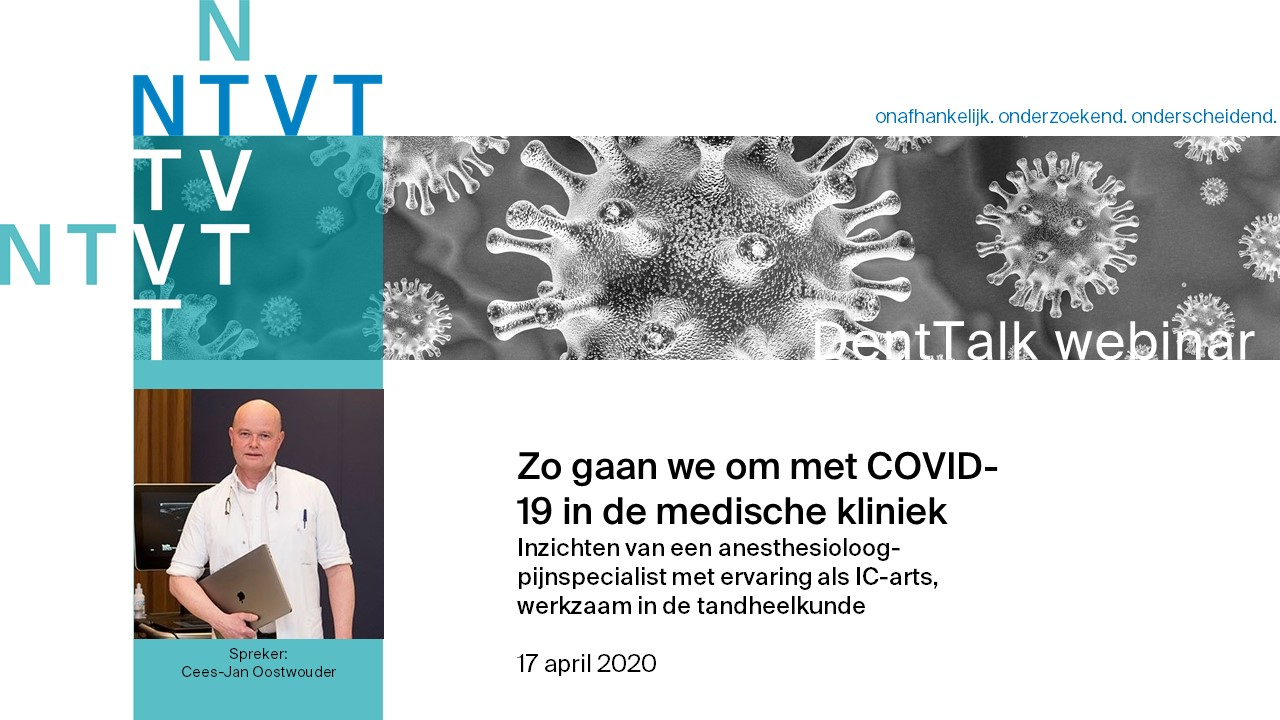 Webinar 4. Zo gaan we om met COVID-19 in de medische kliniek